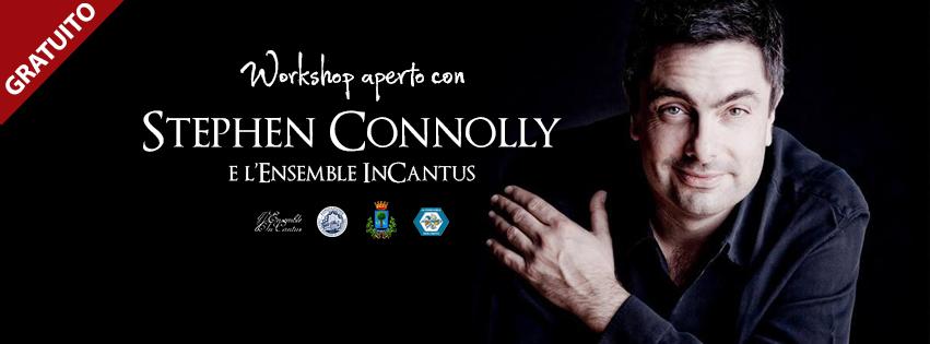Workshop aperto con Stephen Connolly – 12 e 13 Novembre 2016